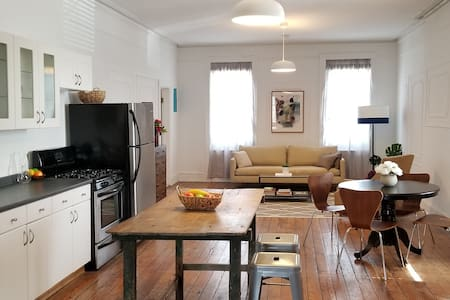 Charming Red Hook loft with yard