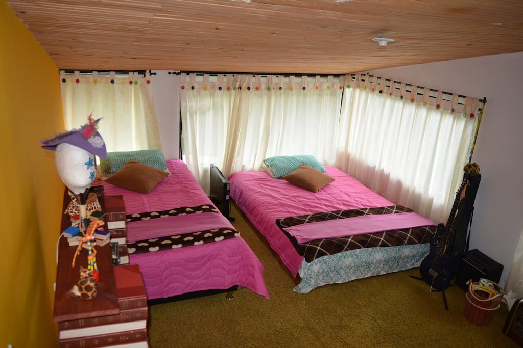 Dormitorio conCalentador