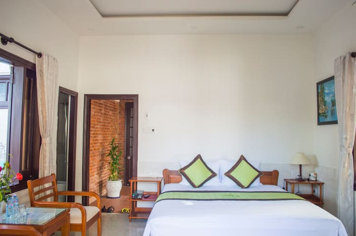 Halo Homestay - Deluxe Double Room 1 - Hội An - Bed & Breakfast