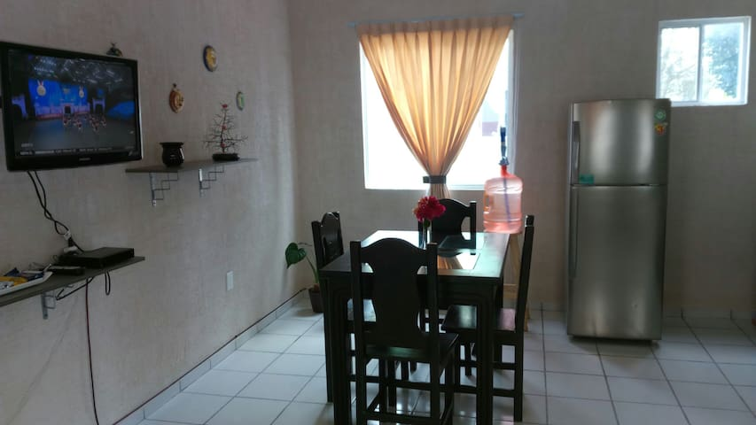 Holiday near the beach in a beautiful apartment!! - Puerto Morelos - Apartment