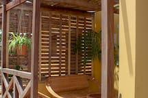 Entrance - patio
