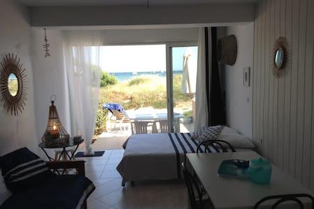 Appartement pieds dans l'eau accès direct plage