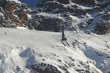 Big lift Alpette to 2800 meter
