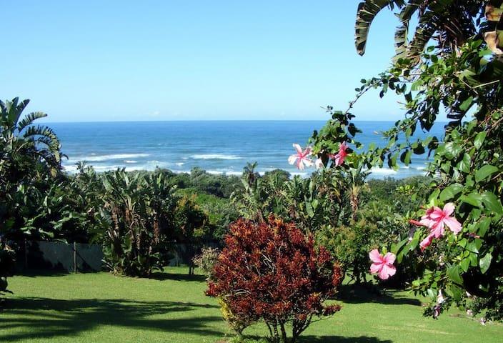 Luxury 8 sleeper beach villa with Jacuzzi on deck