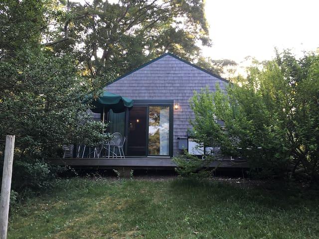 Martha's Vineyard Studio Cottage, walk to Lagoon!