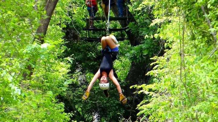 Congo trail zip line