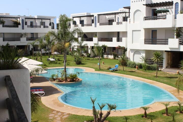 Luxury apartment beach, Morocco