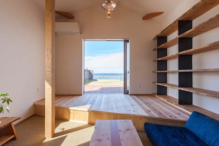 【尾田家】浜辺の古民家 一棟貸し【暮らすように旅する貸別荘】