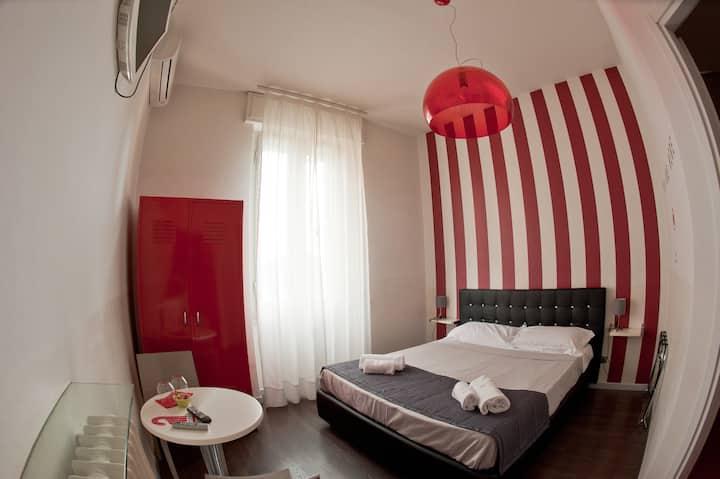 appartamento  5 camere con bagno privato