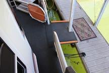 Boarding Ramp.