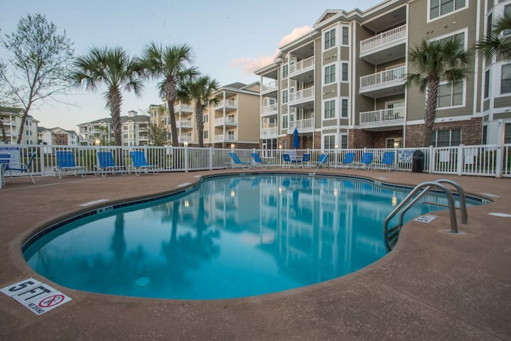 Myrtlewood ground floor Condo 2BR/2 full BA
