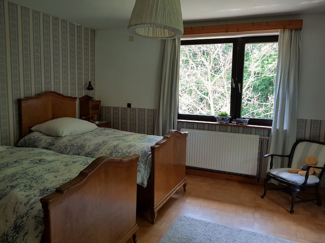 ROOM BLUE IN AUSTRIAN HOUSE/FREE PARKING