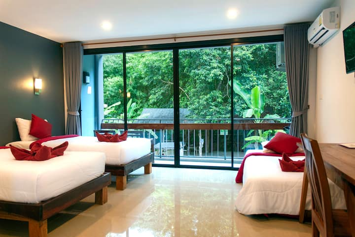 Aonang O2 Boutique - Triple Room&Breakfast