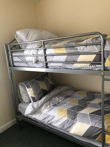 Bedroom 3 bunk beds