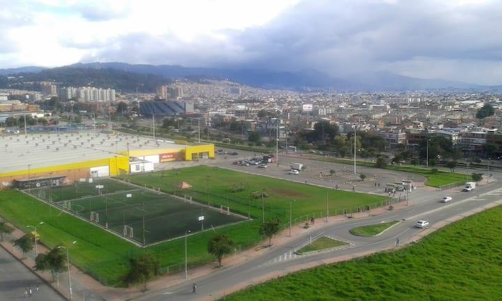 Habitación sencilla para una persona en Bogotá