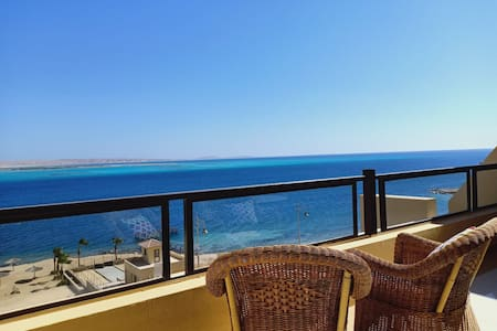 Classy 2 BDrs Apt with Pool &  Sea View Hurghada