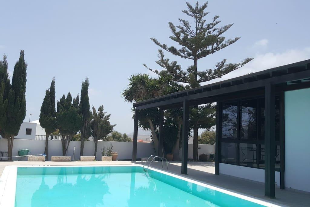 Villa nazoly con piscina privada casas en alquiler en for Villas con piscina privada en fuerteventura