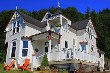 Dahlia House Bed & Breakfast, Pillar Rock Room - Szoba reggelivel