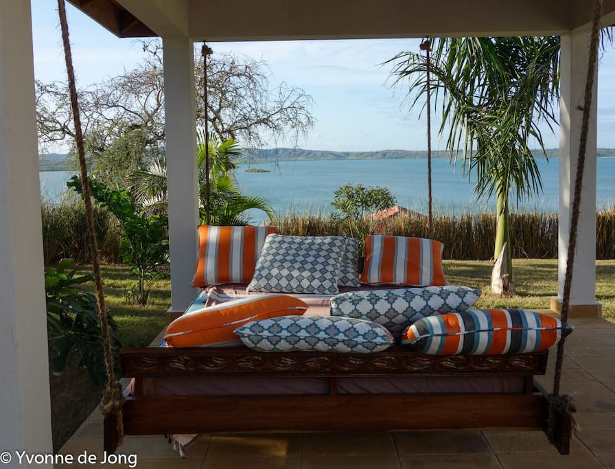View on Kilifi Creek from the garden of the house