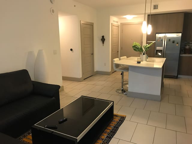 Luxury private room heart of downtown