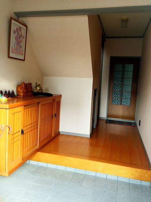 日式玄关,宽敞的进门空间