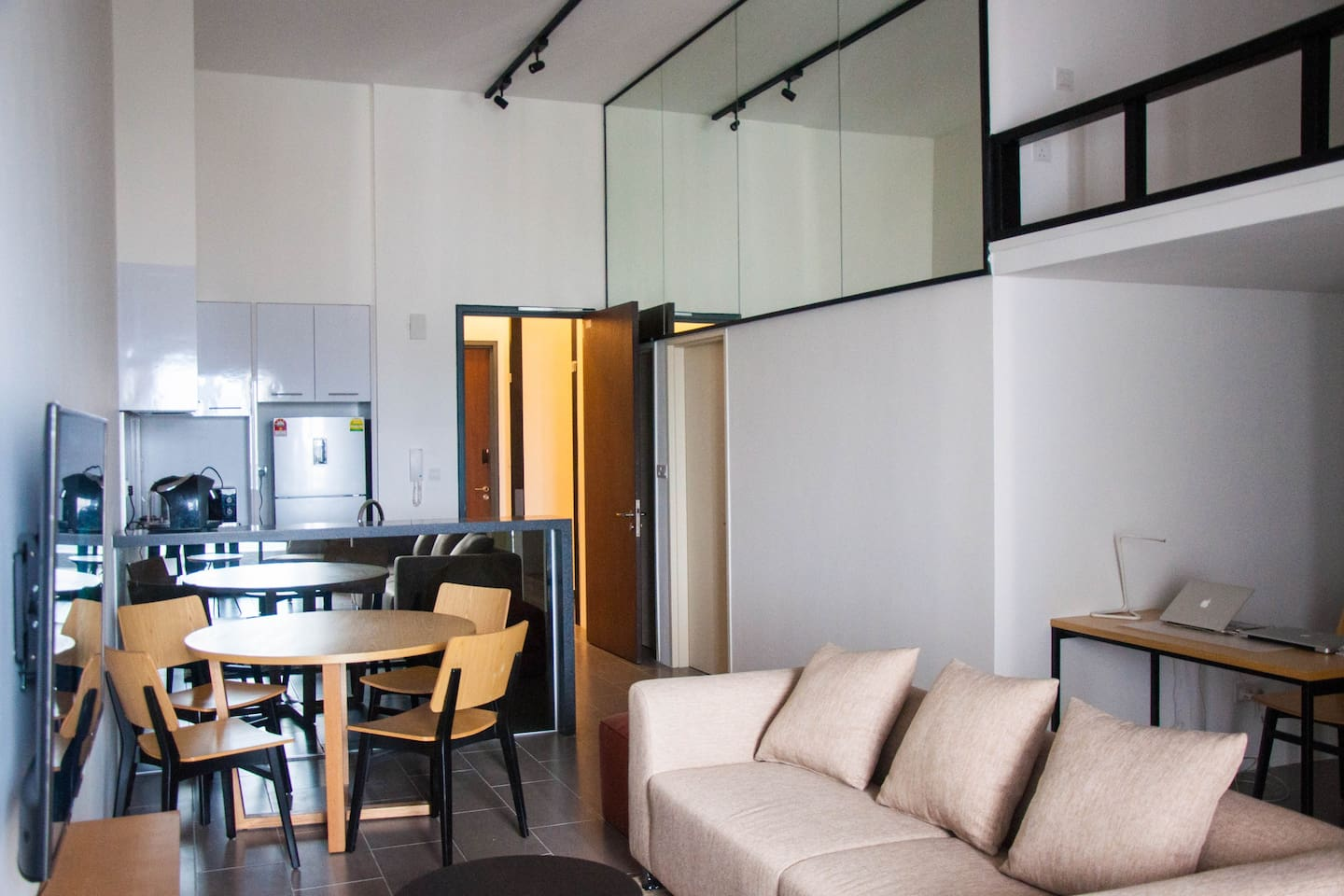 2 Bedrooms Unit with Loft Space Area
