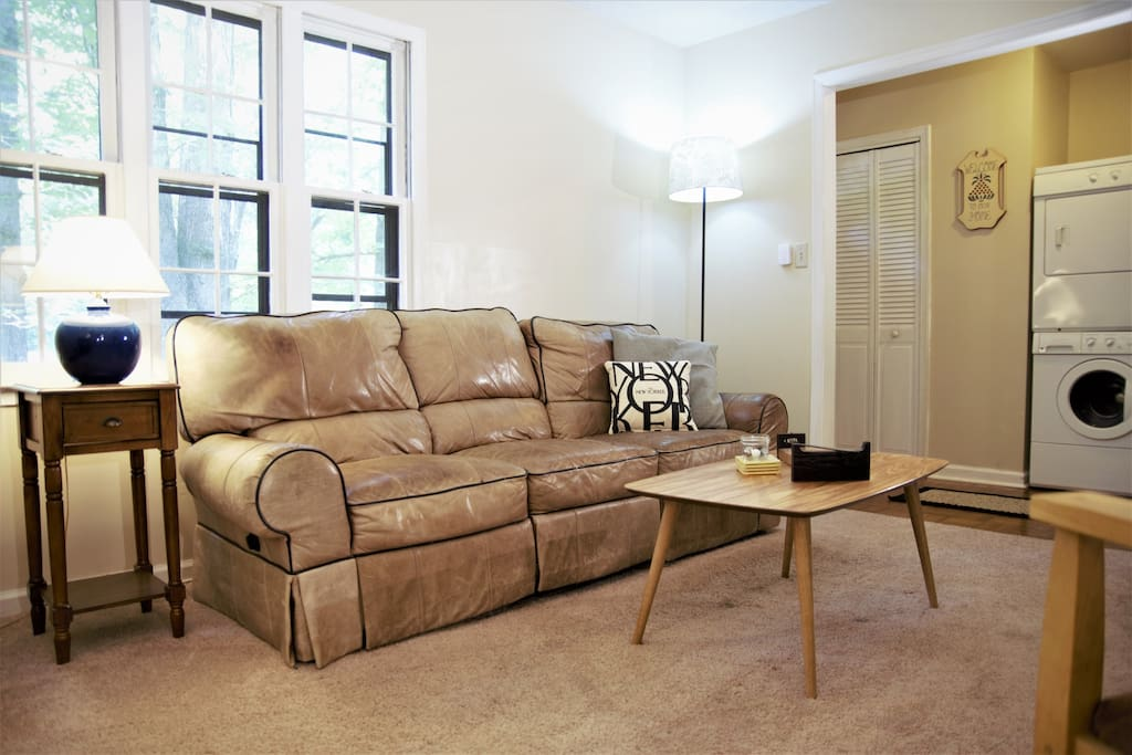 Couch reclines on both sides