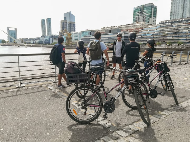Bike Tour to modern  Puerto Madero