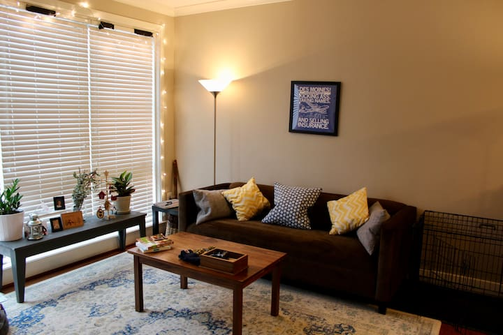 Modern, sunny apartment close to Metro & Old Town - Alexandria - Leilighet