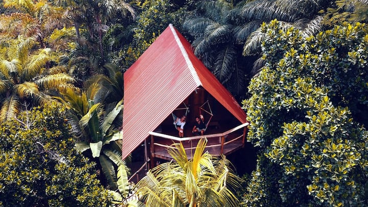 Selvista: Jungle House volcano view luxury 2storey