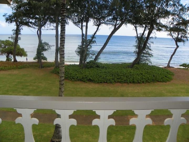 Kauai Top Floor Direct Oceanfront Condo #329