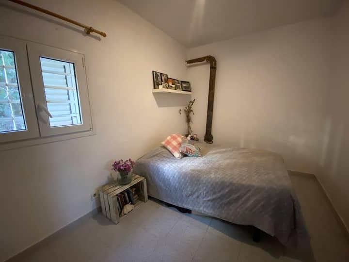 Habitación doble, casa de campo. Paz y el paraíso.