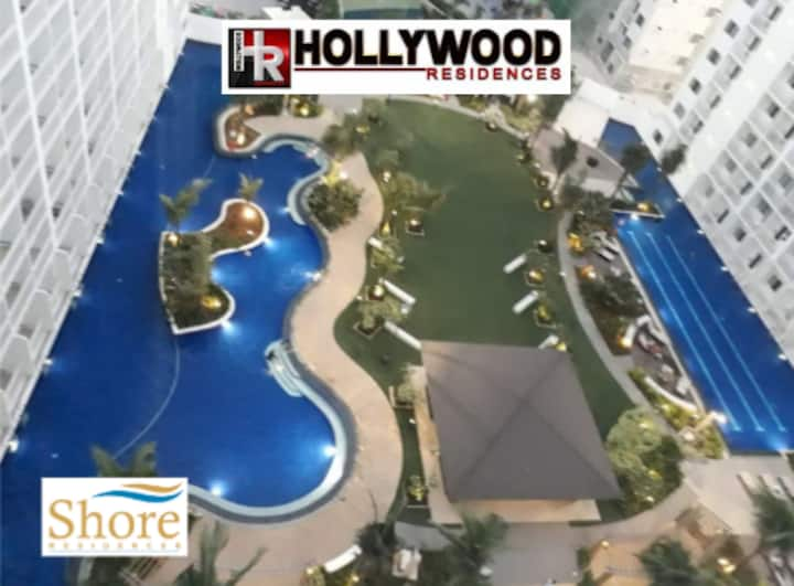 1 BR fully furnished condo @Shore across MOA- 1244