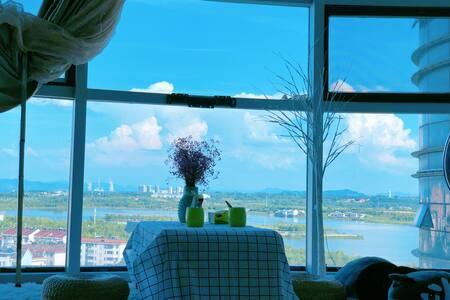 【鹿鸣舍℡韩】星隆国际/万达广场少女总裁180°湖景房
