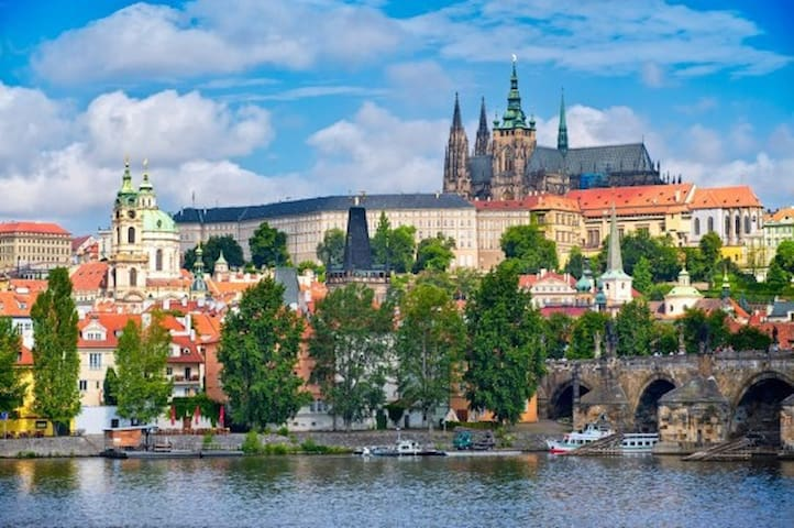 "3 bedrooms APT Prague 1-  ""HISTORIC CITY CENTER"" - Prague 1, Malá Strana - Flat"