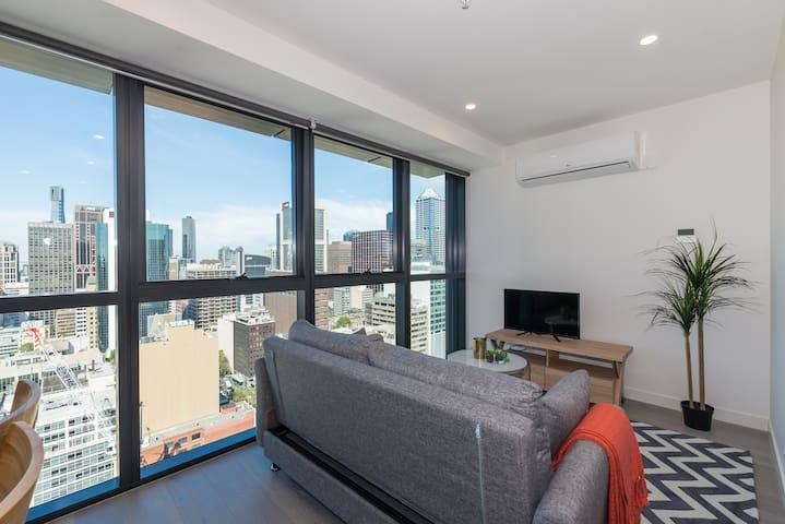 Be the City Queen! Feel the CBD! 1 bed room apt - Melbourne - Apartemen