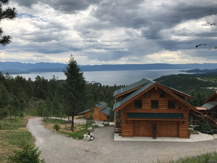 New Flathead Lake Mountain Retreat