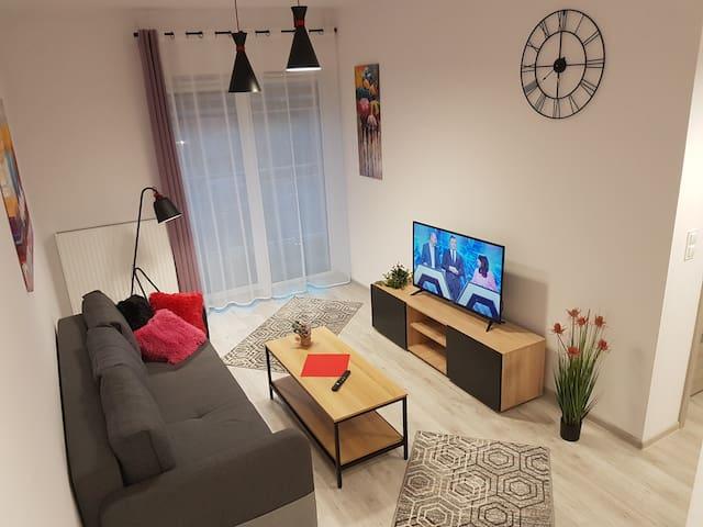 Komfortowy Apartament Kustronia Garaż Balkon Wanna