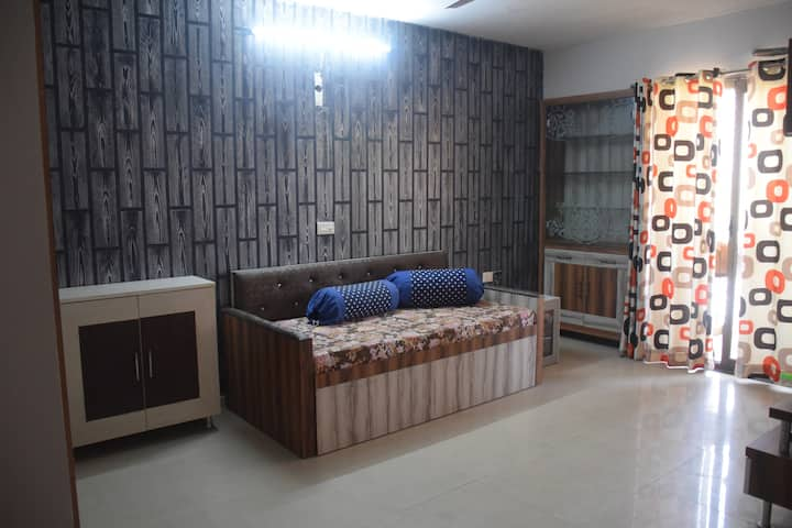 2 BHK FULLY FURNISHED APARTMENT NEAR ISKON TEMPLE