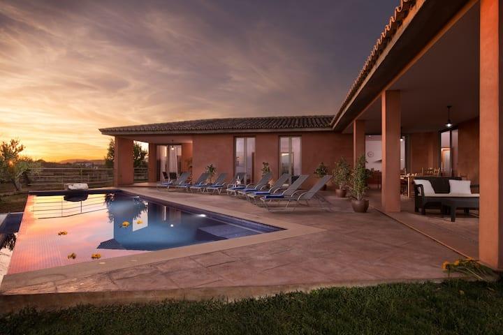 Bordils Petit - Beautiful & Relax Villa with pool