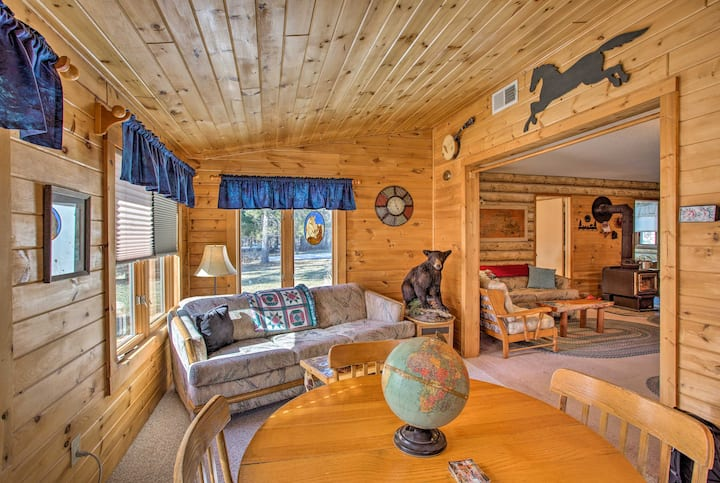 Cozy Lake Nebagamon Cabin 15 Minutes to the Lake!
