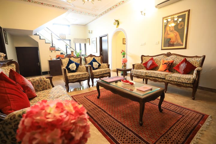 Harnawa Haveli - Room with Garden