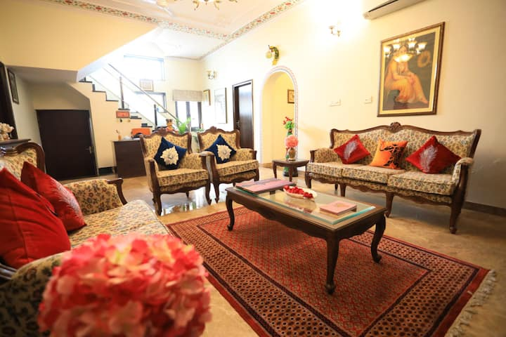 Harnawa Haveli - Room with Private Balcony