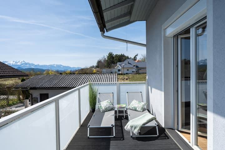 Schönes Ferienhaus mit Garten in Pörtschach
