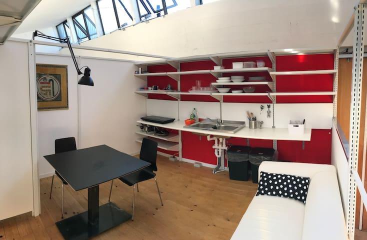 Loft ex-industriale a Milano