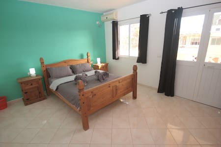The Guesthouse - Double bedroom with large balcony