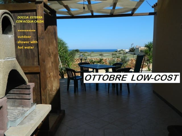 SPRING OFFER, CHALET  with garden and  SEA VIEW!!!