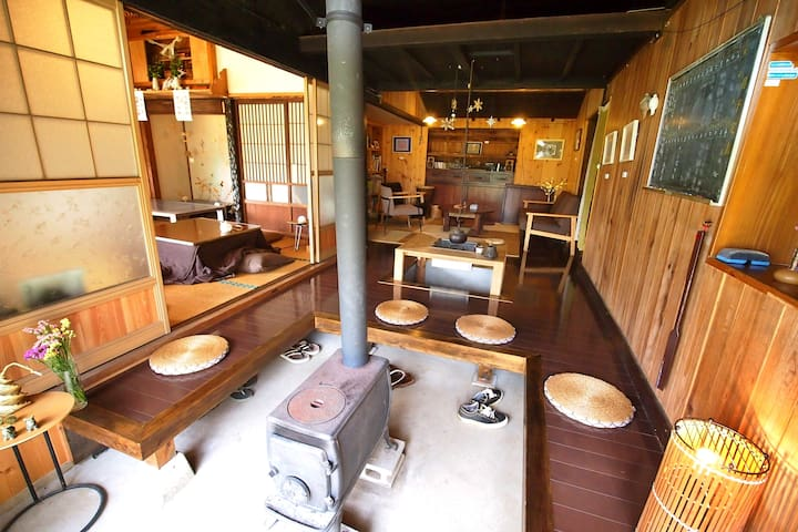 Vintage 100 y/o House+Beautiful Cafe/2meals Incl!