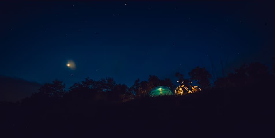 Camping at Western Ghats- 3500 ft above sea level - Idukki - Tent