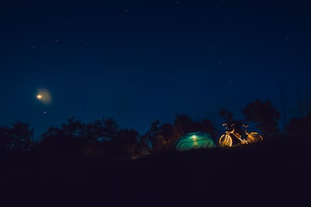 Camping at Western Ghats- 3500 ft above sea level - Idukki - Stan